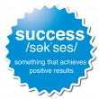 Success - Image vectorielle