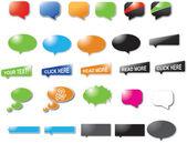 Burbujas diseñadas — Vector de stock