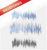 Waveforms — Stock Vector