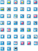 Web 2.0 icons - mixed edition — Vettoriale Stock