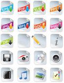 Webdesigners toolkit serie — Stockvector