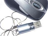 Maus und flash 4 — Stockfoto