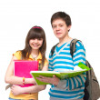 Two teenagers — Stock Photo