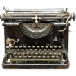 Old vintage type-writer — Stock Photo