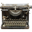 Stock Photo: Old vintage type-writer