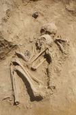Double ancient grave — Stock Photo