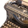 Old typewriter with a sheet of paper — Стоковое фото #2541518