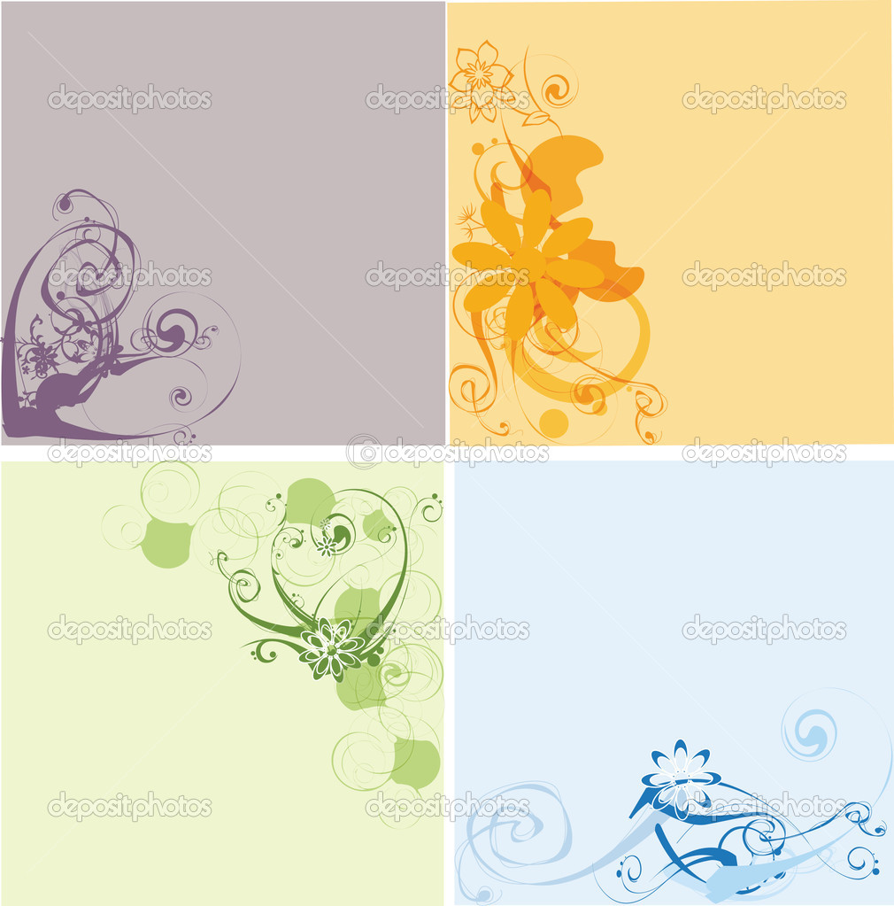 Backgrounds — Imagen vectorial #2007875