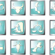 Royalty-Free Stock Vector Image: Zodiac signs vector