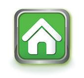 Home green icon — Stock Vector