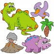 Royalty-Free Stock Vector Image: Prehistoric collection