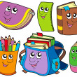 Back to school collection 5 - Stock Vector
