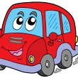 Vector de stock : Cartoon car
