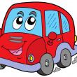 voiture de dessin animé — Vecteur