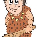 Cartoon prehistoric man — Stock Vector #2148078