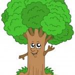 Cartoon tree character — Stock Vector #2148207