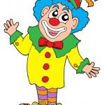 Clown vector illustration — Stock Vector
