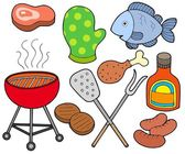 Barbeque collection — Stock Vector