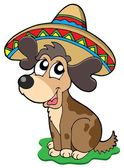 Cute Mexican dog — Stock Vector