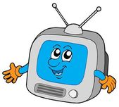 Cute television — Stock Vector