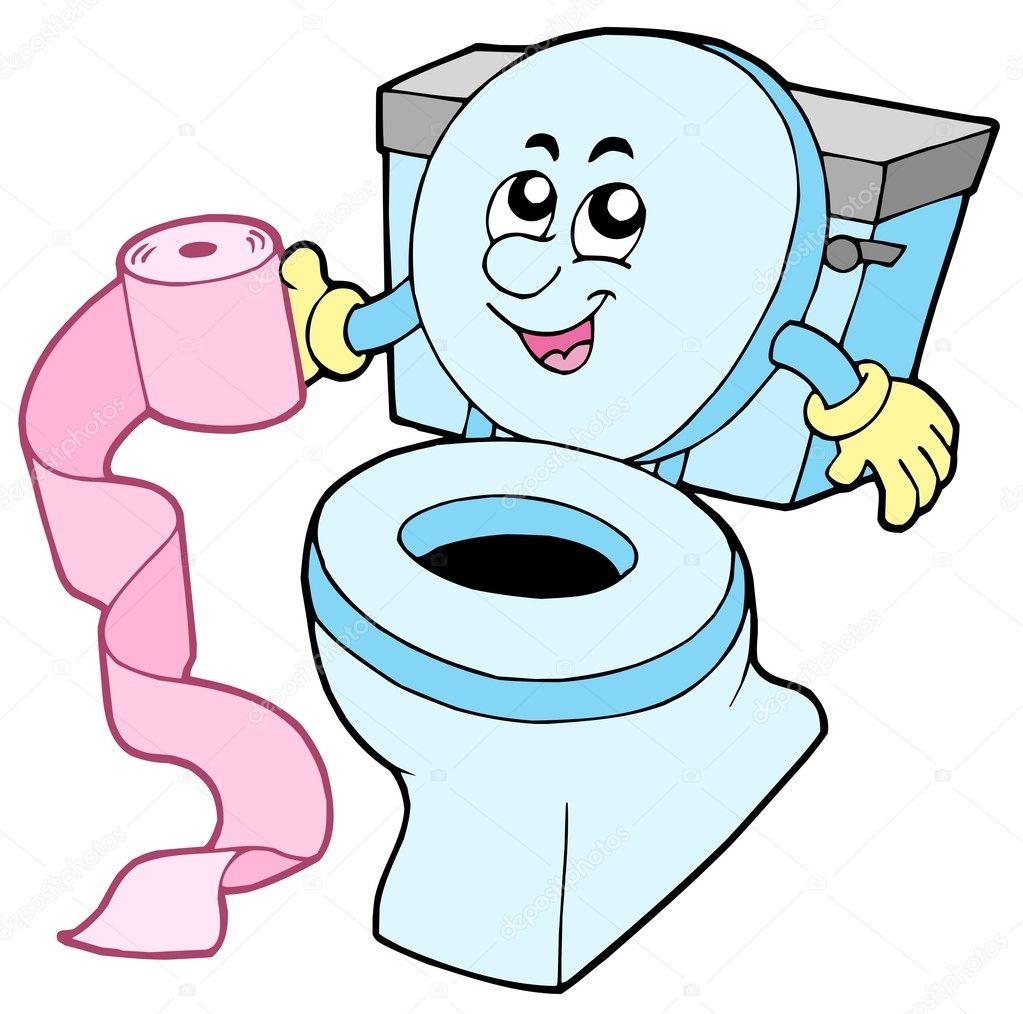 Inodoro de dibujos animados vector de stock clairev - Fotos de inodoros ...