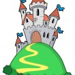 Fairy tale castle — Vector de stock