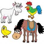 Farm animals collection 2 — Stock Vector
