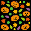 Royalty-Free Stock Vector Image: Halloween background 1