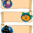 Royalty-Free Stock Vector Image: Halloween banners collection 5