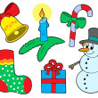 Stock Vector: Christmas collection 3
