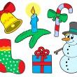 Christmas collection 3 — Stock Vector