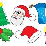 Christmas collection 2 — Stock Vector