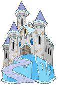 Frozen castle — Stock Vector