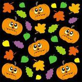 Halloween background 2 — Stock Vector