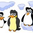 Pinguïns collectie — Stockvector