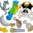 Royalty-Free Stock Vector Image: Pirate collection 9