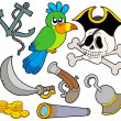 Stock Vector: Pirate collection 9