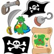 Pirate equipment collection — Stock Vector #2259785
