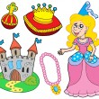 Royalty-Free Stock Vector Image: Princess collection