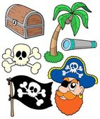 Pirate collection 2 — Stock Vector