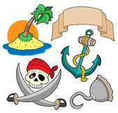 Pirate collection 4 — Stock Vector