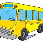 School bus vector illustration — Stock Vector #2260327