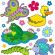 Royalty-Free Stock Vector Image: Small animals collection 8
