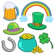 Stock Vector: St Patricks day collection