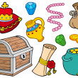 Royalty-Free Stock Vector Image: Treasure collection