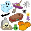 Various Halloween images 3 - Stock Vector
