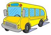 School bus vector illustration — Stock Vector