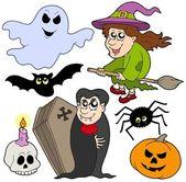 Various Halloween images 1 — Stock Vector