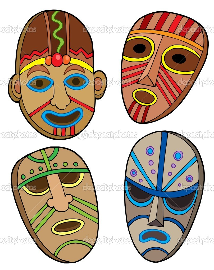 Tribal or Cultural Face Painting has been used for many motives