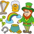 Royalty-Free Stock Vector Image: St Patricks day collection 2